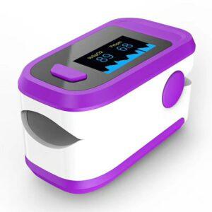 Finger Pulse Oximeter LED Display,Portable Pulse Oximetry Household Health Monitors