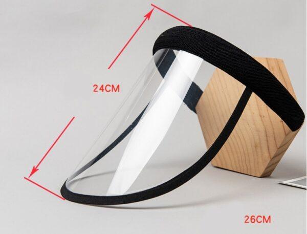 Cap Shield Women Elastic Band Type