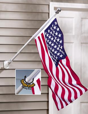 Wall Mounted Flag Poles5
